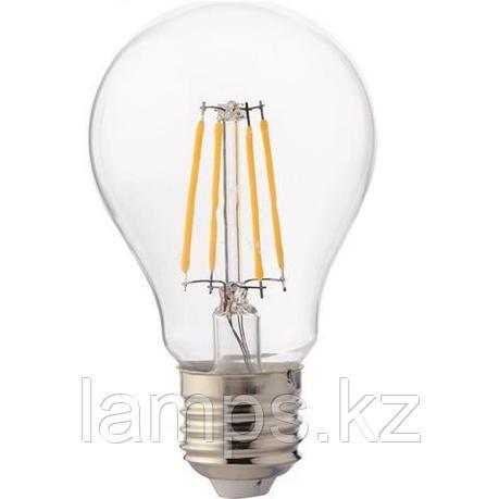Светодиодная Лампа Эдисона декоративная FILAMENT GLOBE-6 6W 4200K, фото 2