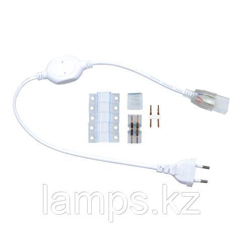 Аксессуары для светодиодных лент (переходник-включатель) GANJ 6А 12ММ 220V