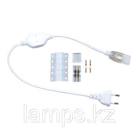 Аксессуары для светодиодных лент (переходник-включатель) GANJ 6А 12ММ 220V, фото 2