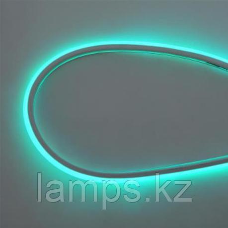 Светодиодная лента пылевлагозащищенная, неоновая NEOLED 100M 6400K зеленый, фото 2