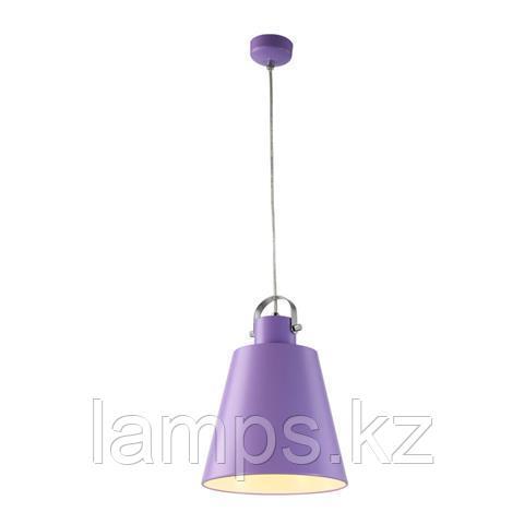 Люстра подвесная светодиодная NOVA 5W фиолетовый 4200K