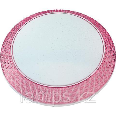 Настенно-потолочный светильник PHANTOM-48 48W розовый 6400K