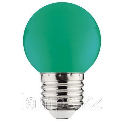 Светодиодная лампа LED RAINBOW 1W 6400K зеленый