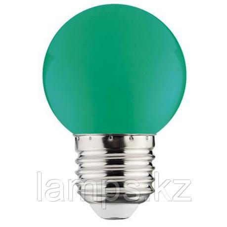 Светодиодная лампа LED RAINBOW 1W 6400K зеленый, фото 2