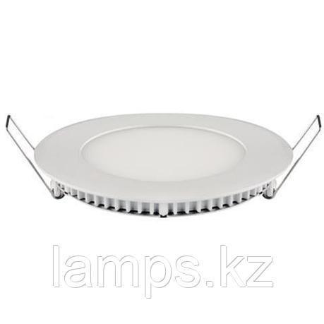 LED панель светодиодная круглая D155 SLIM-12 12W 4200K, фото 2
