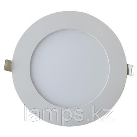 LED панель светодиодная круглая D176 SLIM-15 15W 6400K