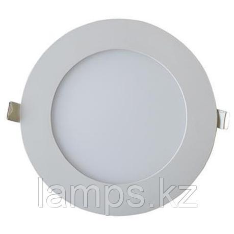 LED панель светодиодная круглая D176 SLIM-15 15W 6400K , фото 2