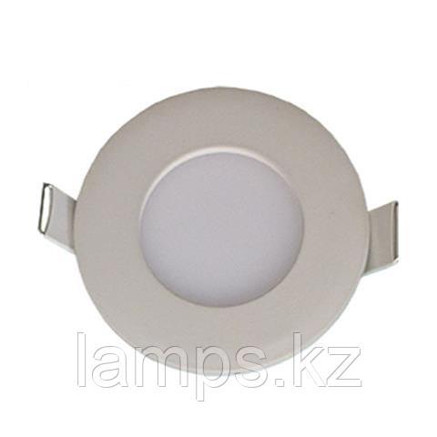 LED панель светодиодная круглая D70 SLIM-3 3W 6400K