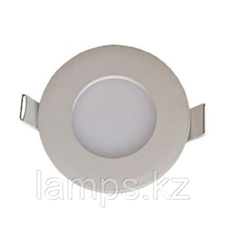 LED панель светодиодная круглая D70 SLIM-3 3W 6400K , фото 2