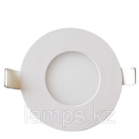 LED панель светодиодная круглая D108 SLIM-6 6W 4200K