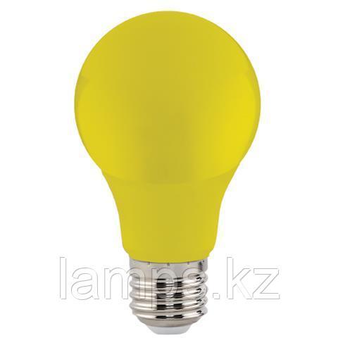 Светодиодная лампа LED цветная SPECTRA 3W желтый