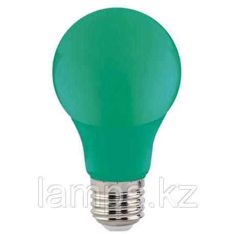 Светодиодная лампа LED цветная SPECTRA 3W зеленый, фото 2