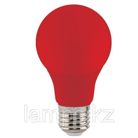 Светодиодная лампа LED цветная SPECTRA 3W красный