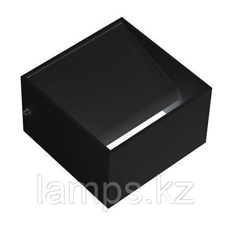 Настенный светильник, бра TRUVA 8W черный 4200K, фото 2