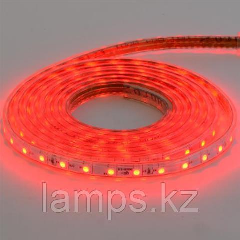 Светодиодная лента пылевлагозащищенная VOLGA 50M красный