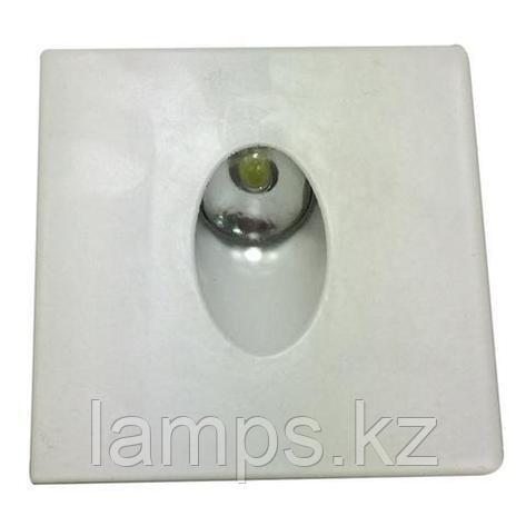 Cветодиодная подсветка для лестниц ZUMRUT 3W матовый, фото 2