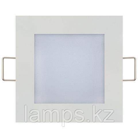 LED панель светодиодная квадратная 113,5x113,5 SLIM/Sq-6 6W 4200K