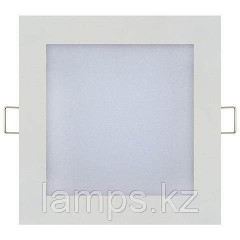 LED панель светодиодная квадратная 194,5x194,5 SLIM/Sq-15 15W 6400K