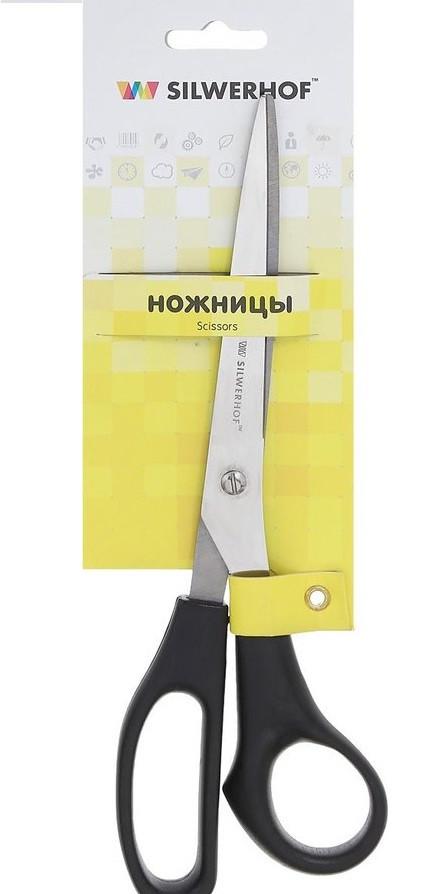 """Ножницы SILWERHOF """"KlassischeLinie"""" 23 см, пластиковые ручки"""