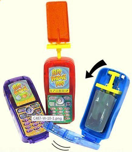 Леденец телефон FLIP PHONE POP 30гр.(12шт в уп.)