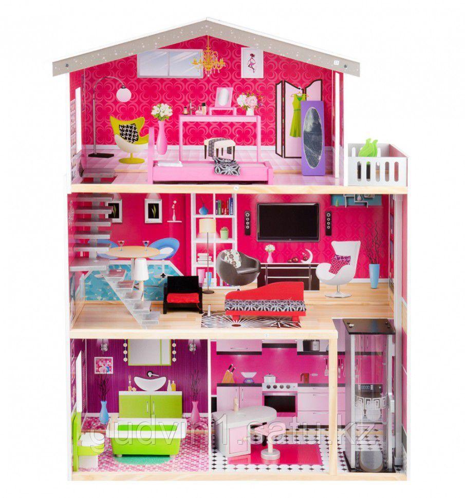 Кукольный дом Edufun с мебелью 115 см EF4118   00-71220