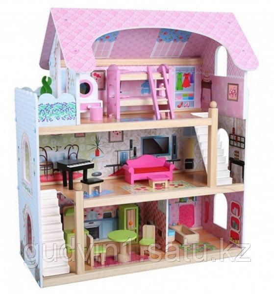 Кукольный дом Edufun с мебелью EF4110    00-66746