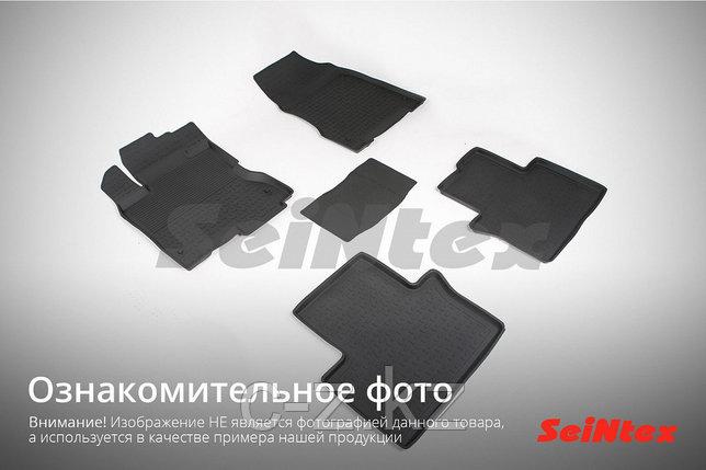 Резиновые коврики с высоким бортом для Nissan Qashqai II 2014-н.в., фото 2