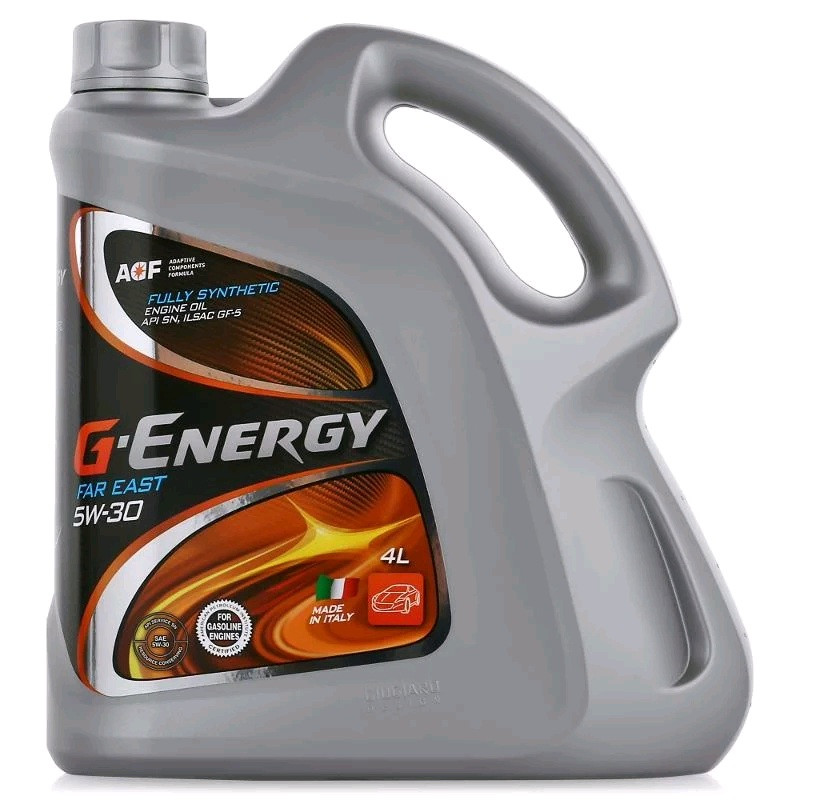 Моторное масло G-ENERGY SYNTHETIC FAR EAST 5W-30 4L