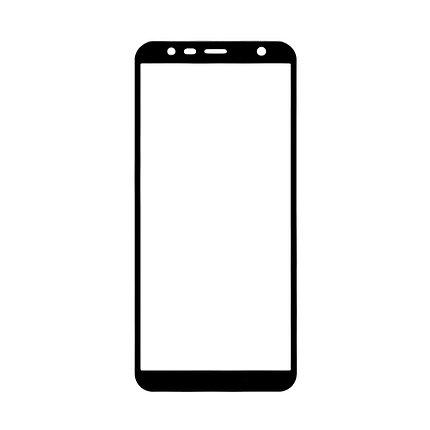 Защитное стекло Samsung J6 2018, Samsung J600 2018 Окантовка Black A-Case, фото 2