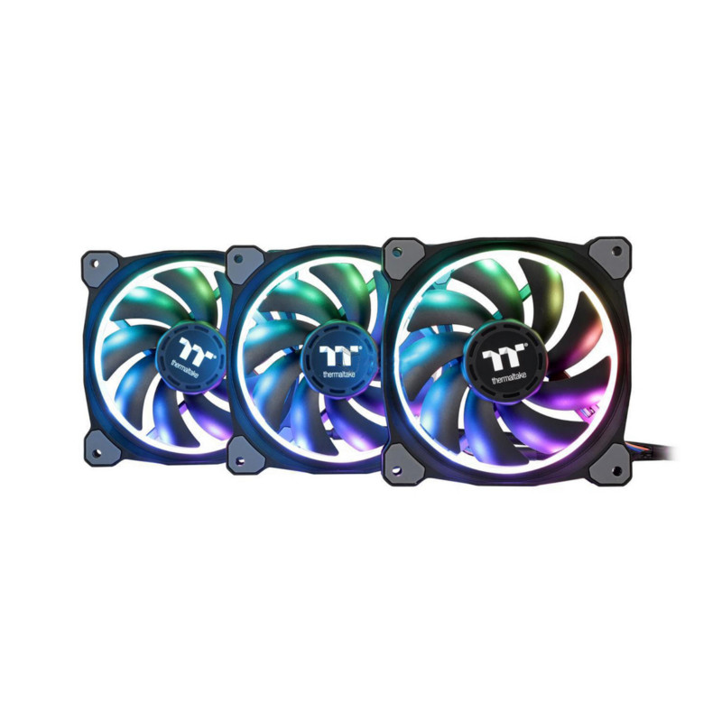 Кулер для кейса Thermaltake Riing Trio 12 RGB TT Premium Edition (3-Fan Pack)