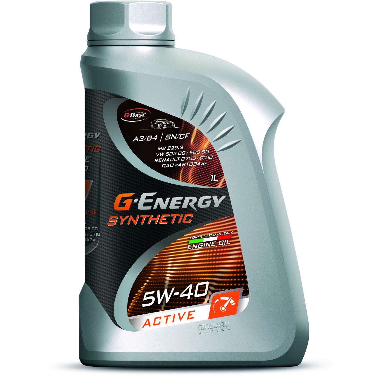 Моторное масло G-ENERGY SYNTHETIC ACTIVE 5W-40 1L