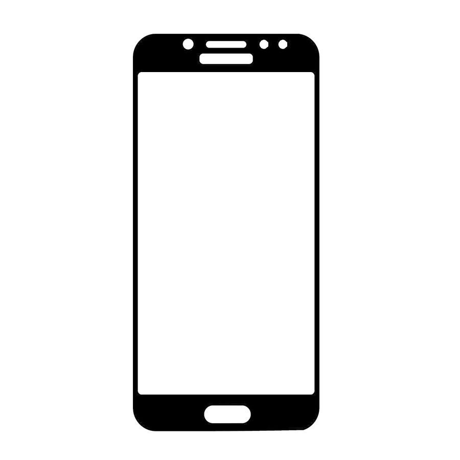 Защитное стекло A-Case Samsung J5 2017, Samsung J530 2017, Окантовка Black
