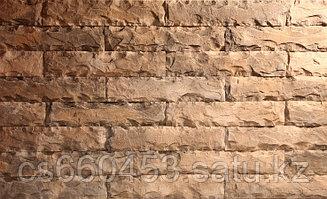 Форма для декоративного камня  КОЛОТЫЙ КИРПИЧ