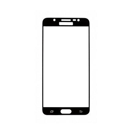 Защитное стекло Samsung J7 2016, Samsung J710 2016, Окантовка Black A-Case, фото 2