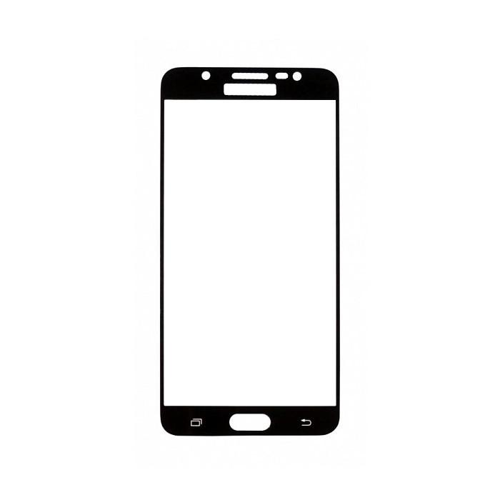 Защитное стекло Samsung J7 2016, Samsung J710 2016, Окантовка Black A-Case
