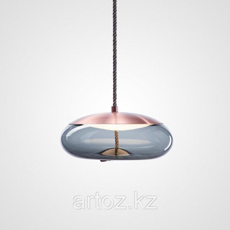 Подвесной светильник Delight Collection Knot D copper/blue