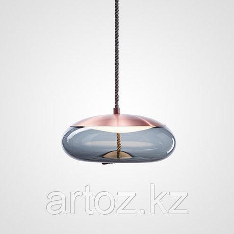 Подвесной светильник Delight Collection Knot D copper/blue, фото 2