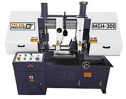 Ленточнопильный станок METAL MASTER MGH-300 полуавтоматический