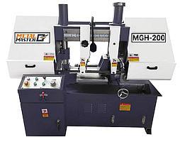 Ленточнопильный станок METAL MASTER MGH-200 полуавтоматический