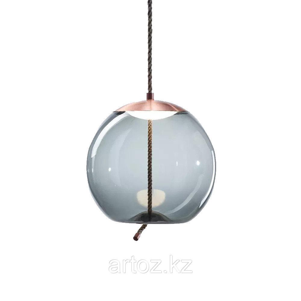 Подвесной светильник Delight Collection Knot C copper/blue