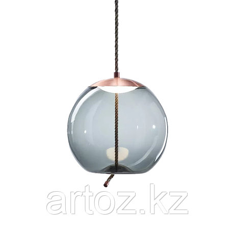 Подвесной светильник Delight Collection Knot C copper/blue, фото 2