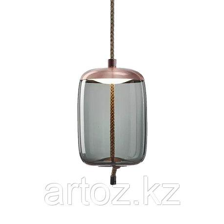 Подвесной светильник Delight Collection Knot B copper/blue, фото 2