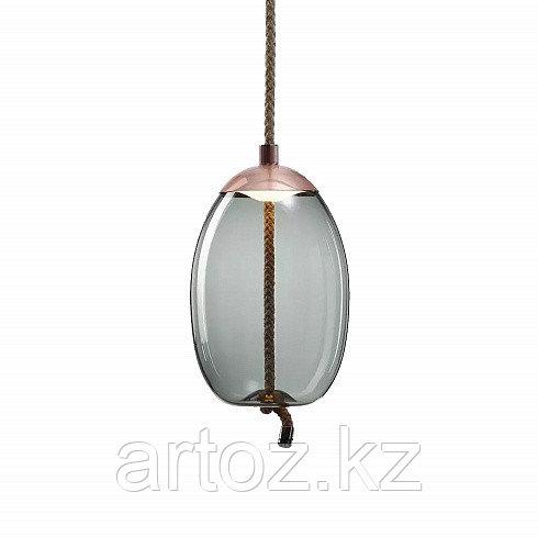 Подвесной светильник Delight Collection Knot A copper/blue