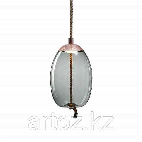 Подвесной светильник Delight Collection Knot A copper/blue, фото 2