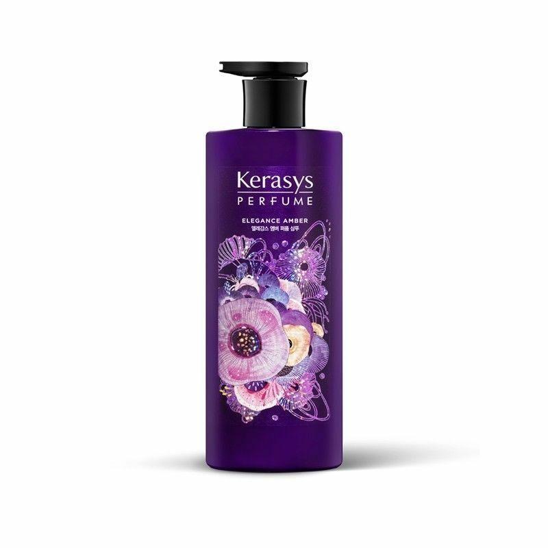 Шампунь Сила и объём волос парфюмированный Kerasys Perfume Shampoo Elegance Amber 600 ml.