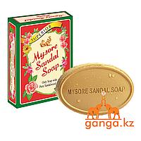 Натуральное Мыло Сандаловое (Mysore Sandal Soap), 75 гр