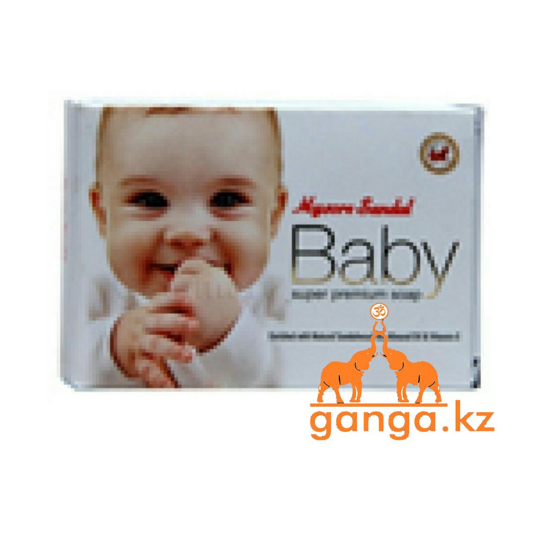 Натуральное Мыло Сандаловое (Mysore Sandal Baby Soap), 75 гр