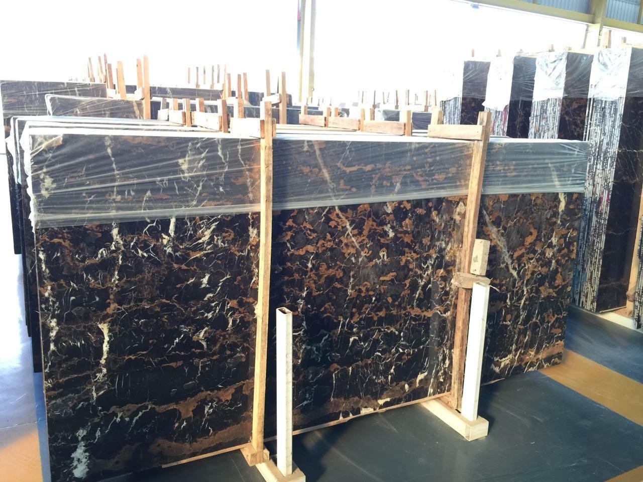 Черный мрамор, Portoro - фото 1