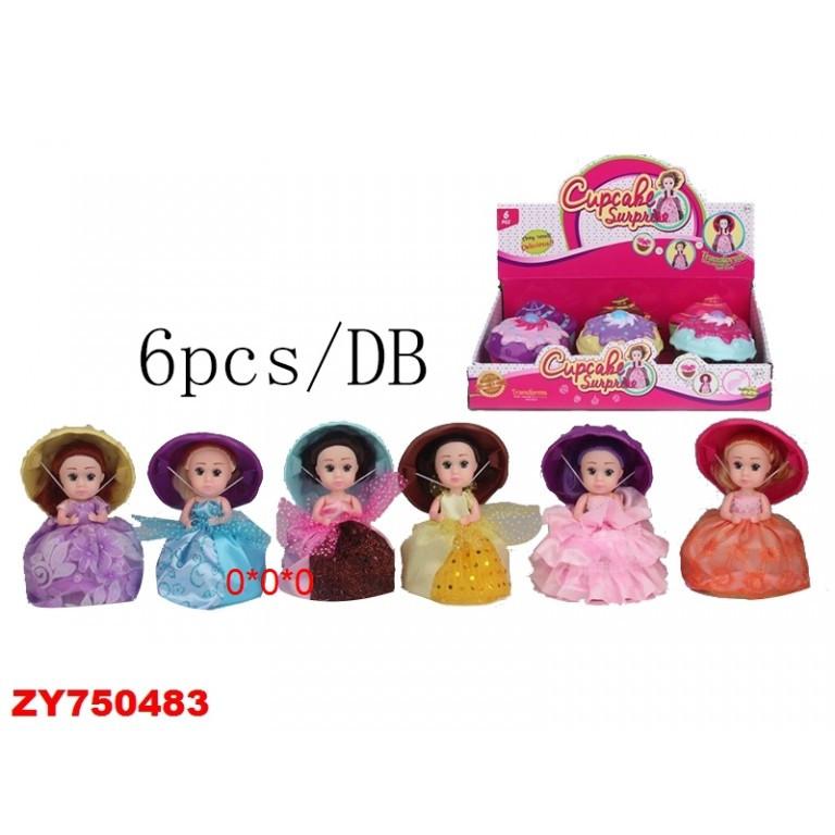 """Кукла """"Пироженка"""" 6шт-упак (ЛМ2349*)"""