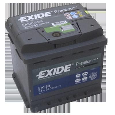 Аккумулятор EXIDE Premium EA 530 53Ah